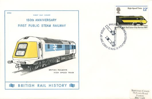 Stockton & Darlington Railway, British Rail High Speed Train
