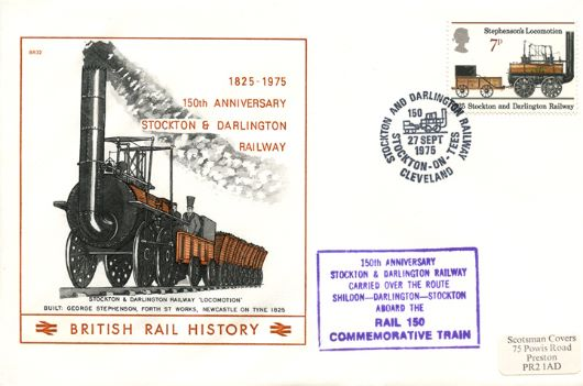 Stockton & Darlington Rly 150th Anniversary, Locomotion