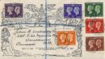 Postage Stamp Centenary Mulready Envelope