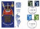 Scotland 4 1/2p Dark Blue Coronation Regalia
