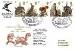 05.10.1977 British Wildlife Norfolk Naturalists Trust Markton Stamps