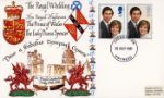 29.07.1981 Royal Wedding 1981 The Welsh Dragon Wedding Day Official Sponsors