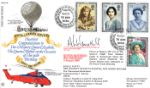 02.08.1990 Queen Mother 90th Birthday Postal & Courier Services Forces, RFDC No.86