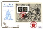 03.05.1990 Penny Black: Miniature Sheet Britannia Cotswold