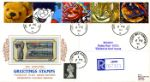 06.02.1990 Smiles (Greetings) Teddy and Train Blocks Pres. Philatelic Services, Cigarette Card No.20