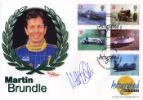 29.09.1998 Speed Martin Brundle Westminster, Autographed No.0