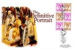10.03.1998 PSB: Definitive Portrait - Pane 4 Coronation Ceremony Westminster