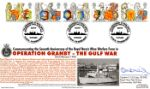 24.02.1998 Queen's Beasts Operation Granby - Gulf War Royal Naval Covers,  Two No.3