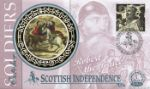 Soldiers' Tale Robert the Bruce - Scottish Independence Producer: Benham Series: 1999 Small Silks (37)