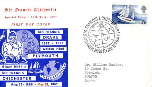 Sir Francis Chichester, Drake and Chichester