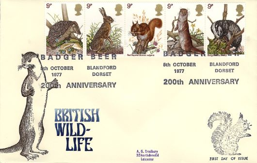 British Wildlife, DeLux covers