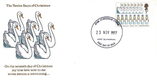 Christmas 1977, Seven Swans a-Swimming