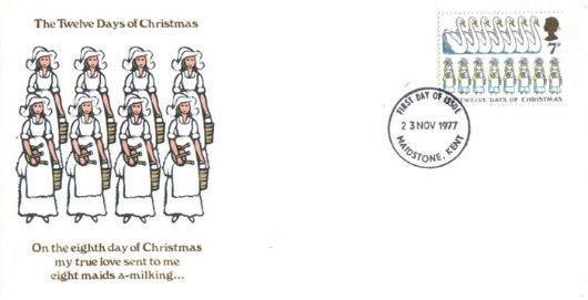 Christmas 1977, Eight Maids a-Milking