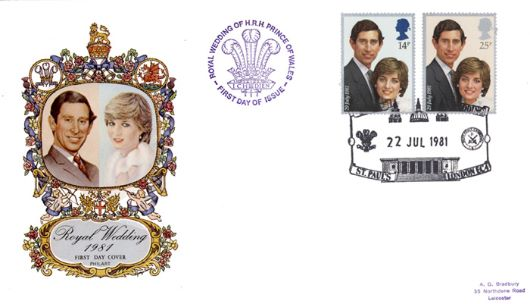 Royal Wedding 1981, Charles & Diana