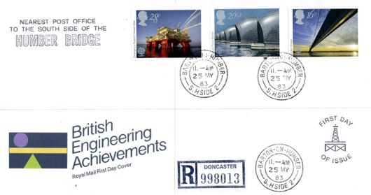 Engineering Achievements, CDS postmarks