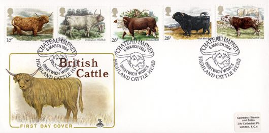 British Cattle, Highland Cattle