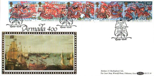 Spanish Armada, Battle of Gravelines | First Day Cover / BFDC Ltd