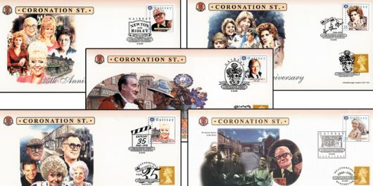 Coronation Street, Set of five covers