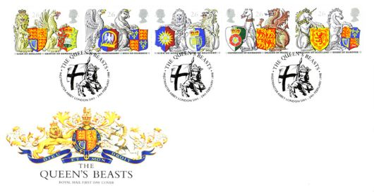 Queen's Beasts, The Royal Arms