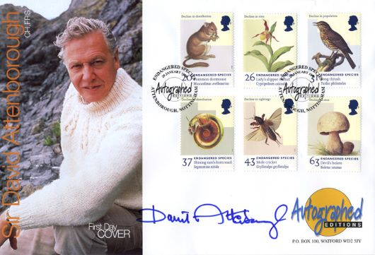 Endangered Species, Sir David Attenborough