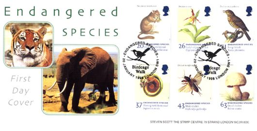 Endangered Species, Tiger and Elephant