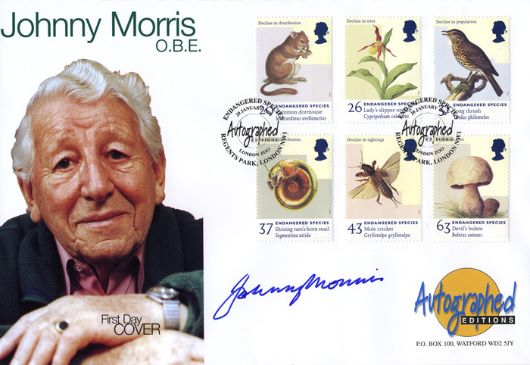 Endangered Species, Johnny Morris, OBE