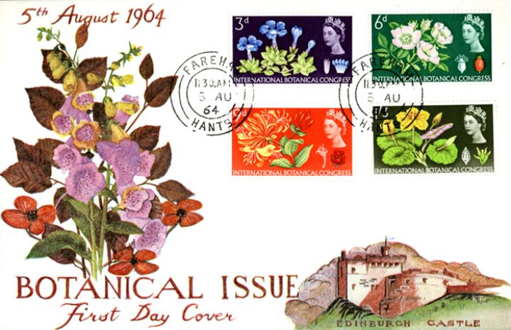 Botanical Congress, Foxgloves and other flowers
