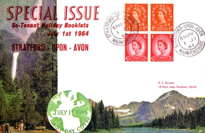 Stitched: QEII: 2s for holiday resorts, National Parks