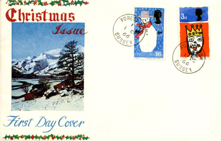 Christmas 1966, Winter Landscape