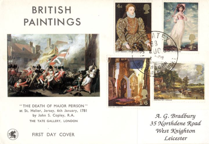 British Paintings 1968, The Death of Major Peirson