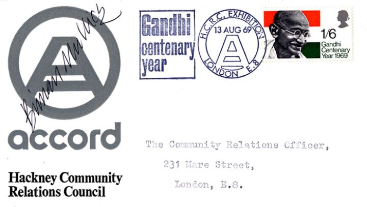 Gandhi, Hackney Community Relations Council