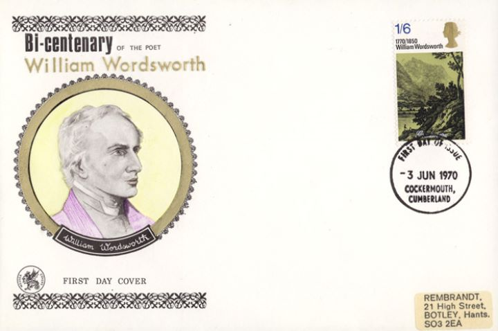 Literary Anniversaries 1970, Wordsworth Portait