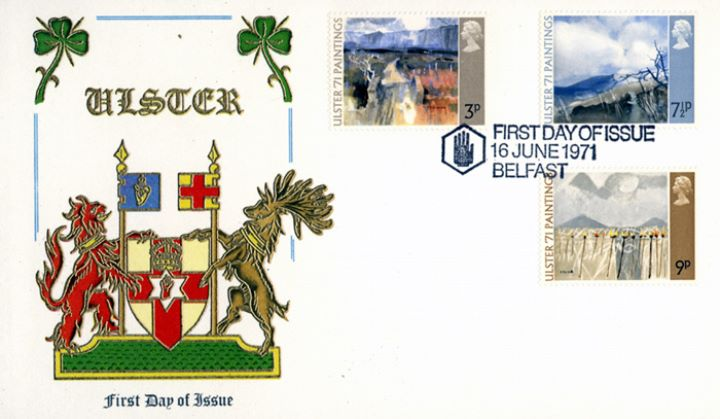 Ulster '71 Paintings, Coat of Arms of Ulster