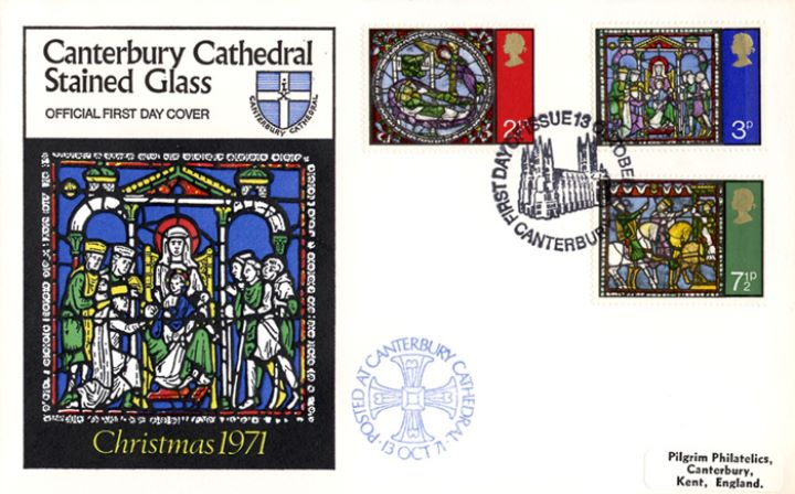 Christmas 1971, Canterbury Stained Glass