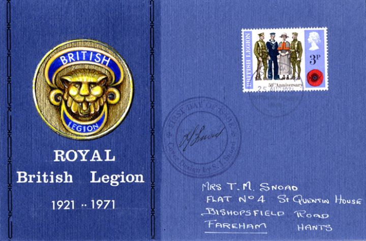 General Anniversaries 1971, British Legion