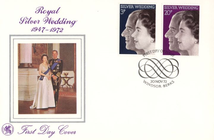 Silver Wedding 1972, Queen & Duke of Edinburgh