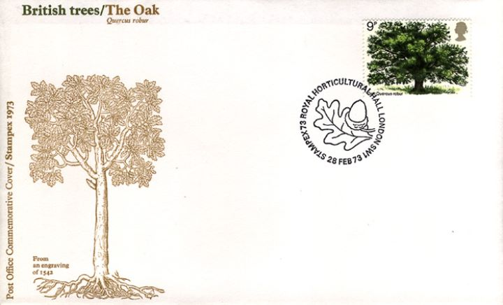 British Trees - The Oak, Stampex