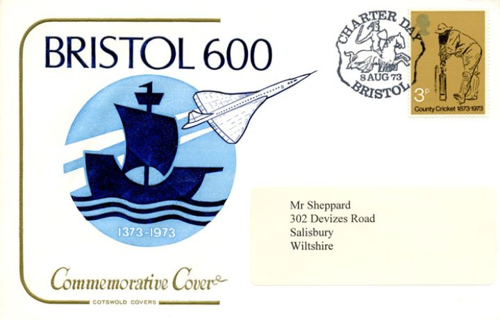 Bristol 600, Concorde and Mayflower