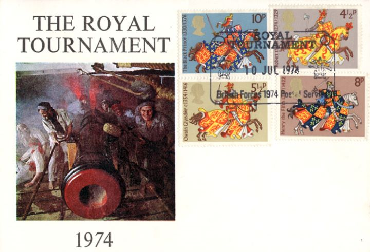 Great Britons, Royal Tournament