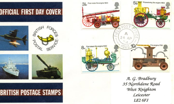 Fire Engines, Forces Cover