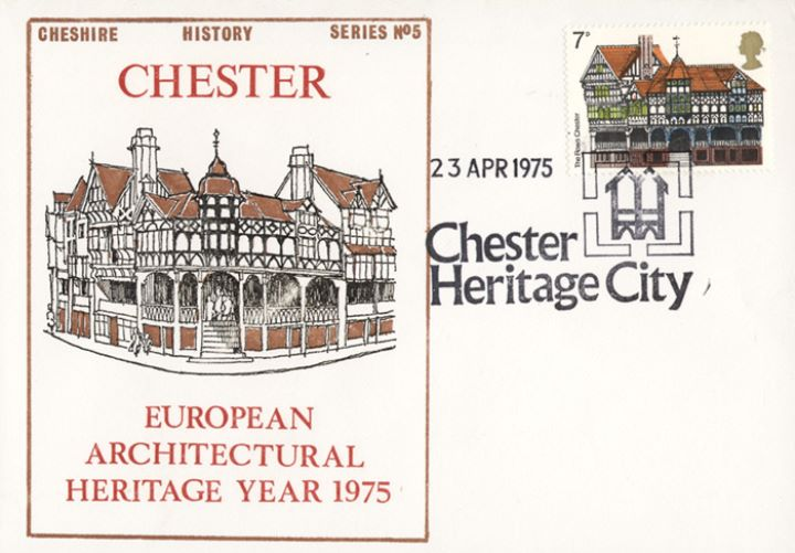 European Architectural Heritage Year, The Rows Chester