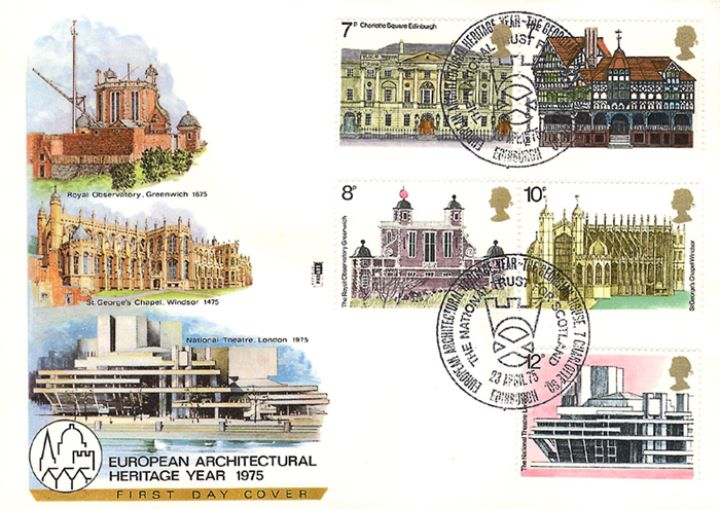 European Architectural Heritage Year, Architectural Anniversaries
