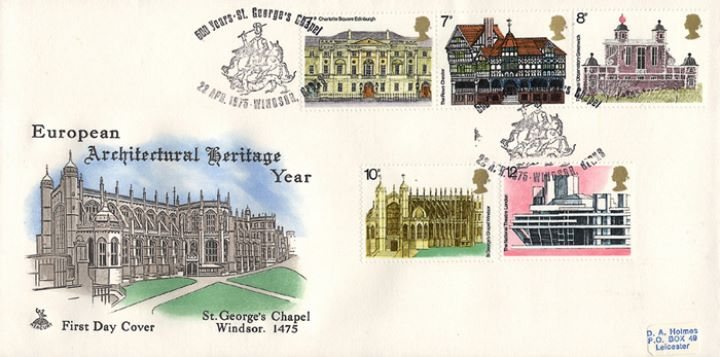 European Architectural Heritage Year, St George's Chapel