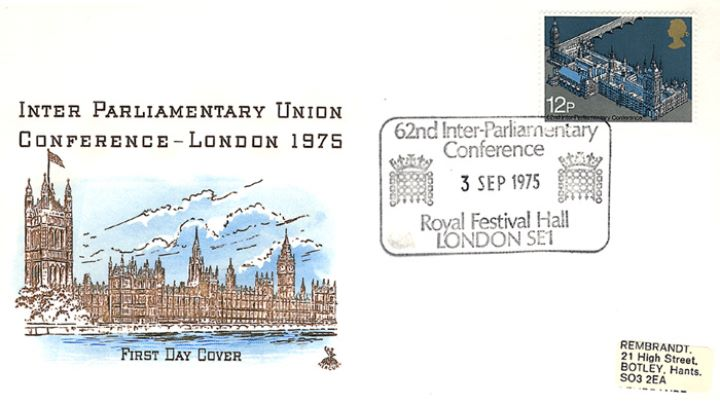 Parliament 1975: 12p, Inter Parliamentary Union