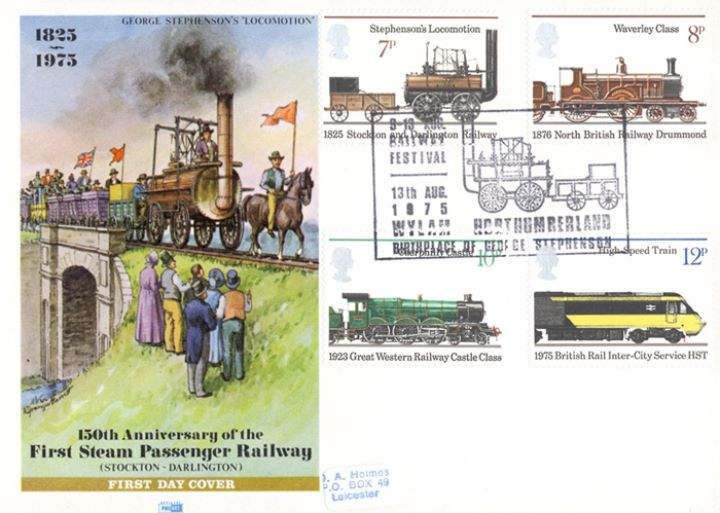 Stockton & Darlington Railway, George Stephenson's Locomotion