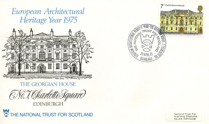 European Architectural Heritage Year, 7 Charlotte Square