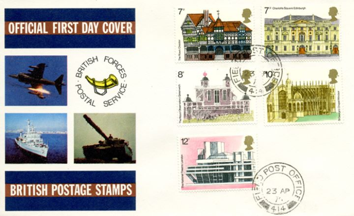 European Architectural Heritage Year, British Forces Postal Service