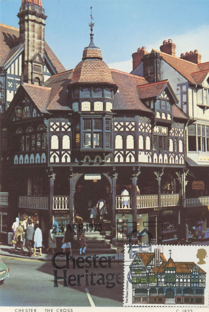 European Architectural Heritage Year, Chester Post Card