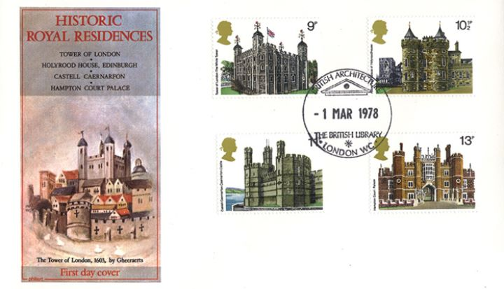 Historic Buildings: Stamps, Tower of London
