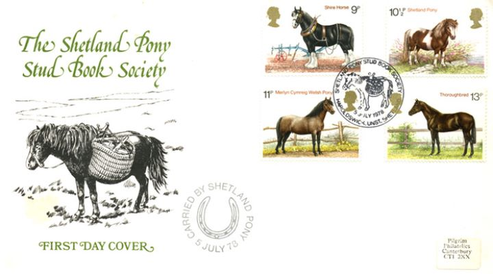 Shire Horse Society, The Shetland Pony Stud Book Society